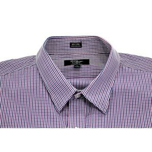 J.Crew Mens Wrinkle Free 80s 2 Ply Button Up Shirt
